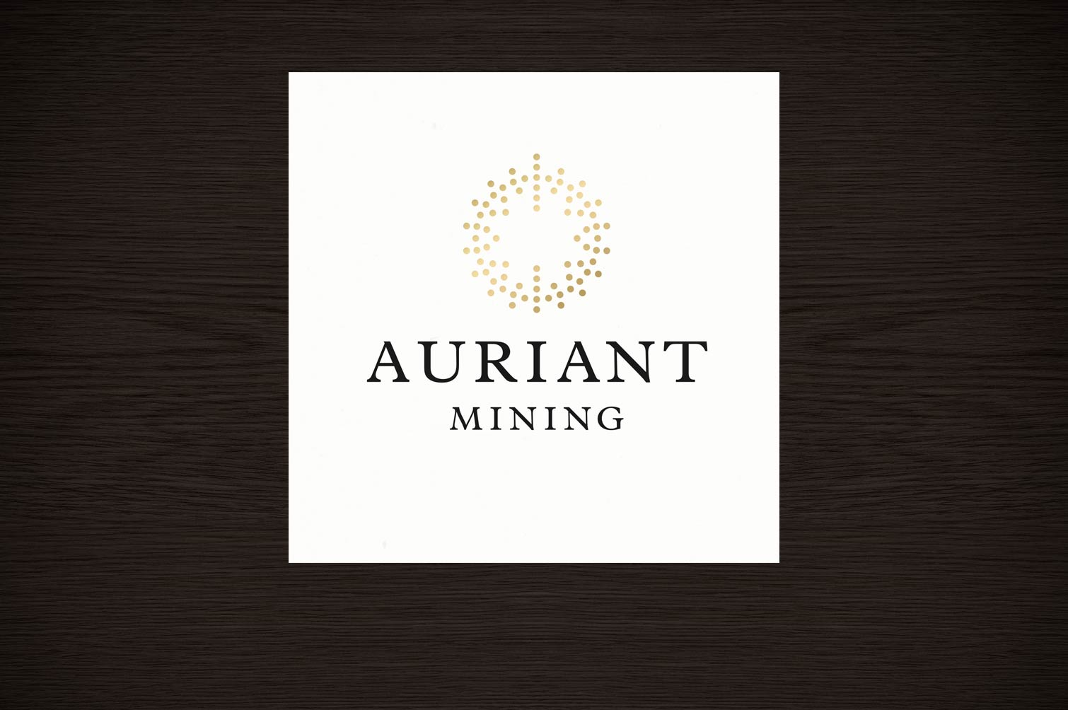 Auriant Mining corporate identity