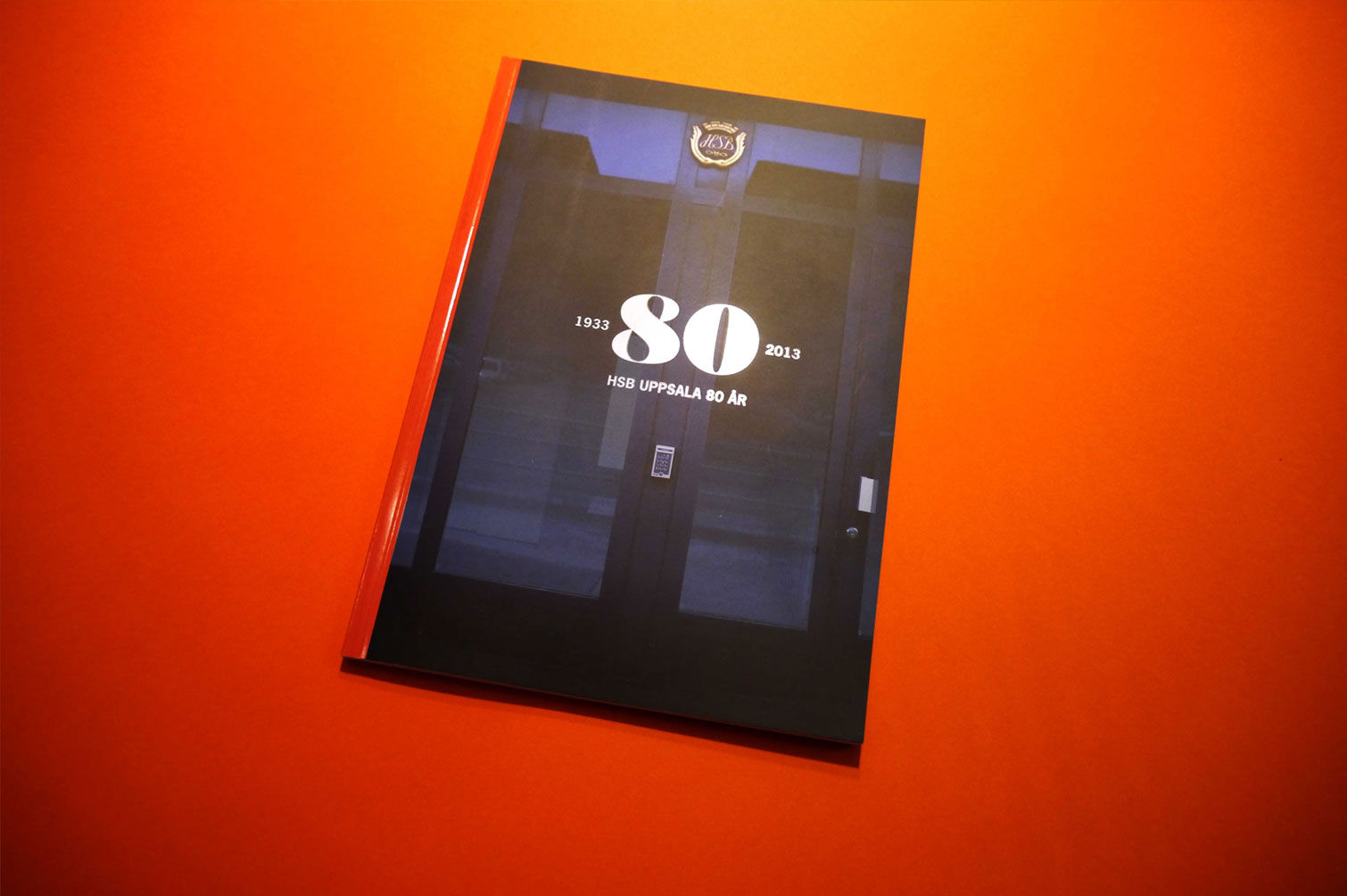 HSB 80 year anniversary book